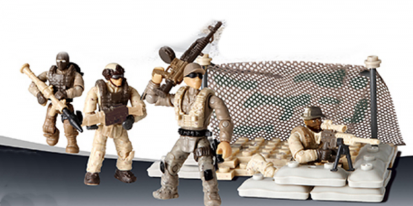 Special Troops: Vanguard lineup