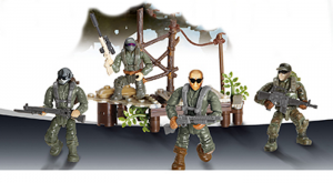 Special Troops: Crossing the swamp