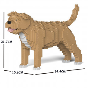 Staffordshire Bull Terrier beige