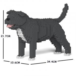 Staffordshire Bull Terrier grey