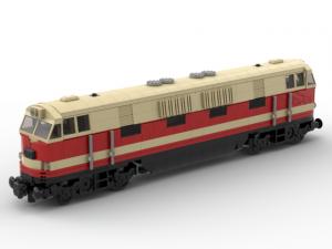 Locomotive BR 118 DR