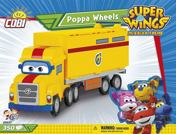 Super Wings - Poppa Wheels