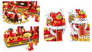 Chinese New Year's lion dance