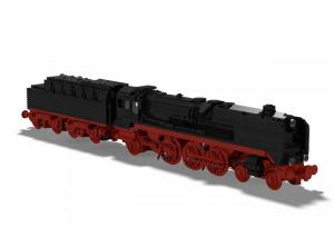 Steam locomotive BR 01