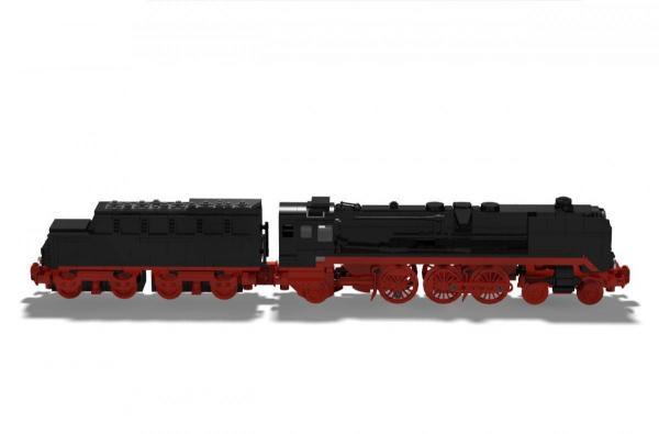 Dampflokomotive BR 01