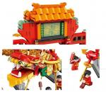 Chinese architecture - Chinese New Year Dragon Dance