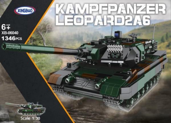 Kampfpanzer Leopard II A6, Bundeswehr