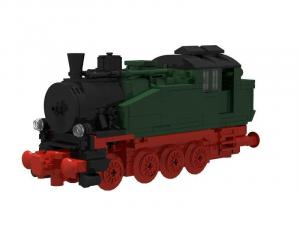 Steam locomotive BR 92 Green