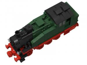 Dampflokomotive BR 92 Grün