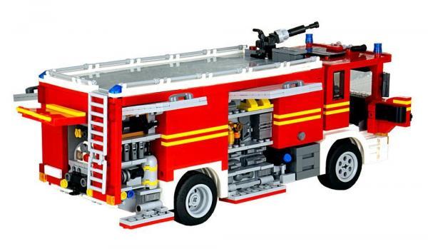 Feuerwehr Schweden Tanklöschfahrzeug