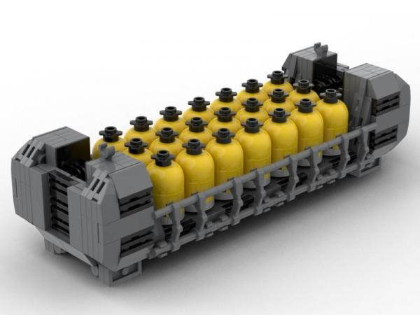 Main Base Mars - Snail Kraftstoffcontainer