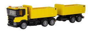 Dump Truck with Trailer