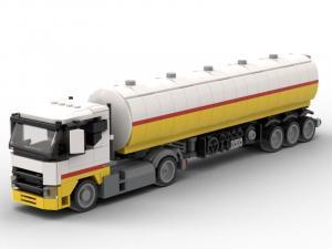 Kraftstoffsattelzug