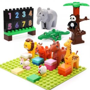 Kids - Classroom with Animals (Numbers)