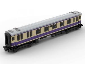 Rheingold Passagier Wagon 1. Klasse