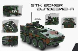 GTK Boxer, Bundeswehr