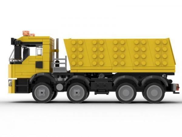 Dump Truck 4 axle