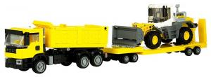 Dump Truck with Loader