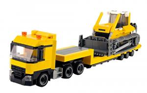 Truck with Bulldozer