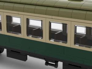 DR Passagier Wagon lang