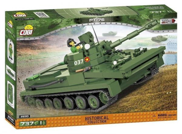 Vietnam War - Light Amphibious Tank PT-76