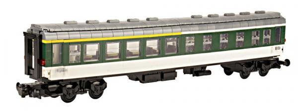 Pop Wagon white green