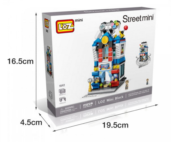 Spielwarengeschäft (mini blocks)