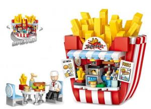 French fries shop (mini blocks)