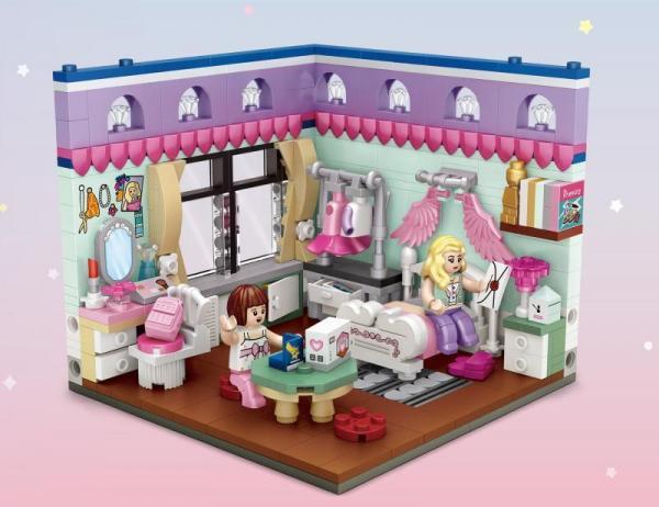 Schlafzimmer (mini blocks)
