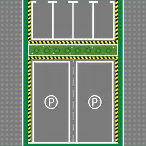 Plate 32x32, Parking lot