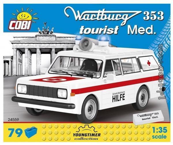 Wartburg 353 Med. - Schnelle Medizinische Hilfe