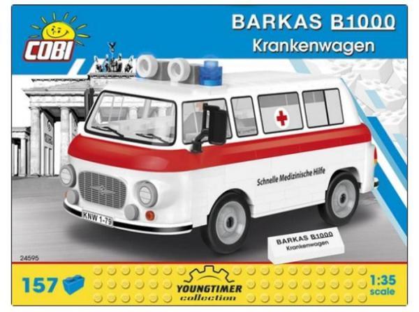 Barkas B1000 Krankenwagen (Schnelle Medizinische Hilfe)