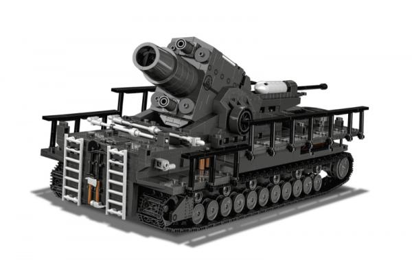 60 cm Mörser Karl - Gerät 040