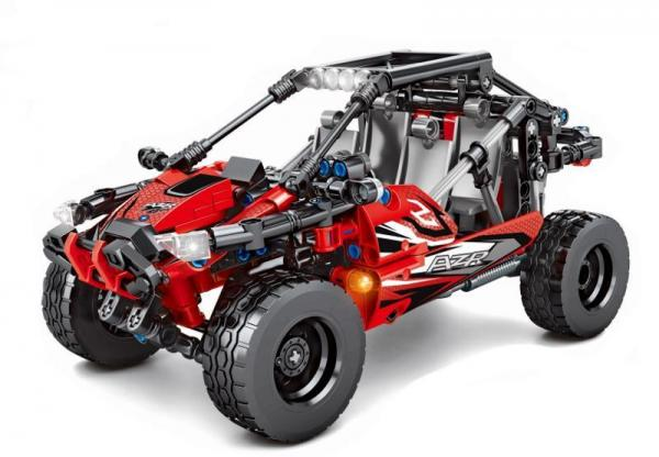 Buggy in red