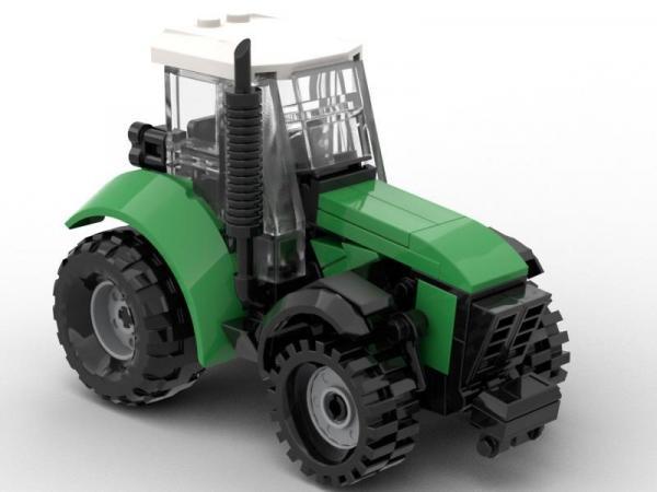Traktor mit 3 Anhängern