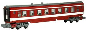 60s French express train wagon