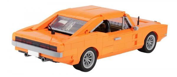 Oranges US-Muscle-Car