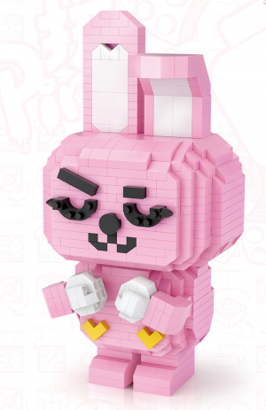 Kaninchen TuTu (Diamond Blocks)