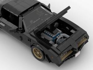 Amerikanisches Sport Cabriolet der 70er Jahre