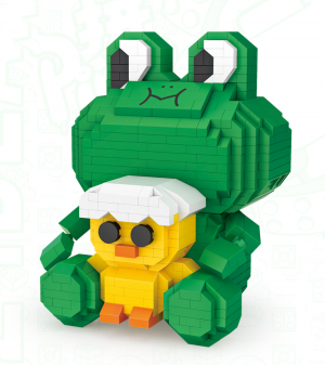 Frog Leo  (Diamond Blocks)