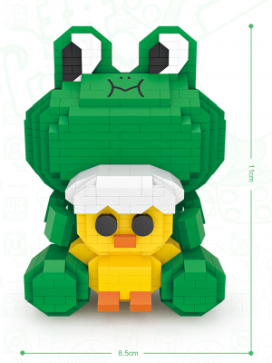 Frog Leo  (Diamond Blocks)