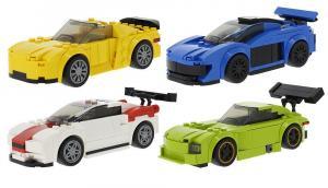 Set of 4 vehicles