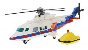 Rescue helicopter for sea rescue