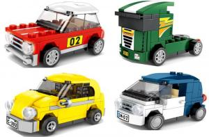 Set of 4 vehicles
