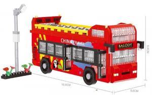 China Travel Bus (diamond blocks)