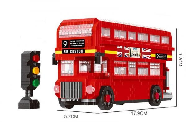 London Bus (diamond blocks)