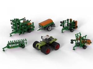 AMAZONE agricultural machinery large set