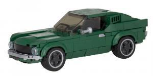 little green US Muscle Car