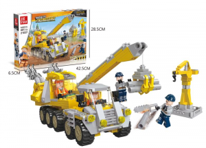 Construction site vehicle