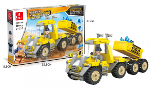 Construction site vehicle Dump Trucks